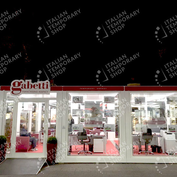 italian temporary shop gabetti